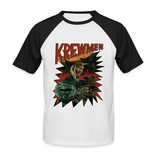 front krewmen - Men's Baseball T-Shirt