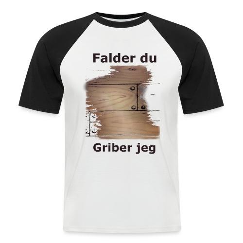 Gulvet Griber - Kortærmet herre-baseballshirt