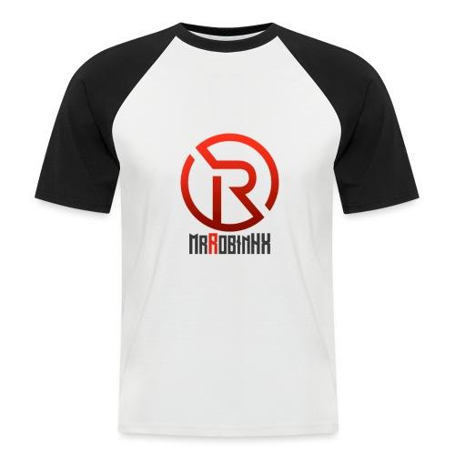 MrRobinhx - Kortermet baseball skjorte for menn