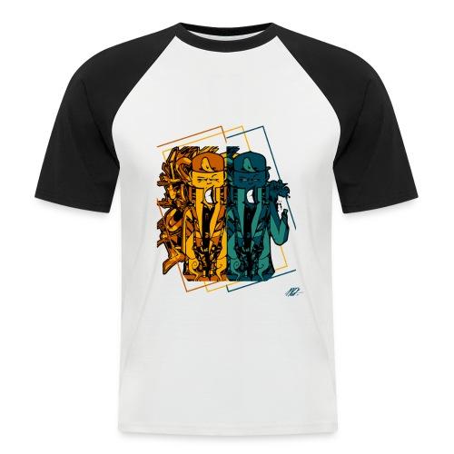DemonSmile - COLL01 - AVR2K17 - T-shirt baseball manches courtes Homme