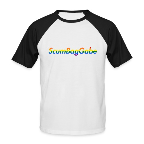ScumBagGabe Multi Logo XL - Men's Baseball T-Shirt