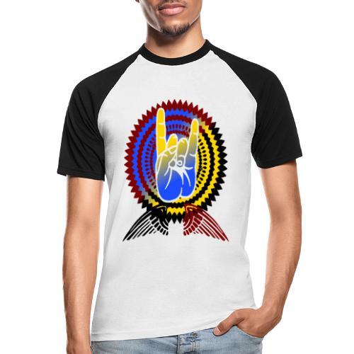 Rock it - Männer Baseball-T-Shirt