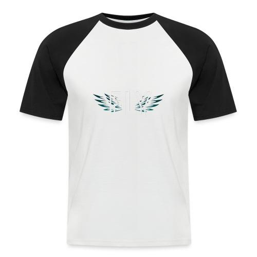Wings Fly Design - Men's Baseball T-Shirt