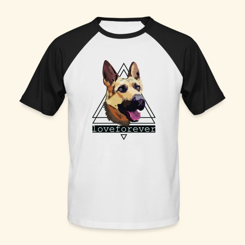 SHEPHERD LOVE FOREVER - Camiseta béisbol manga corta hombre
