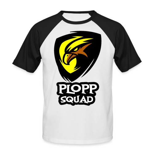 Plopp Squad - Kortärmad basebolltröja herr