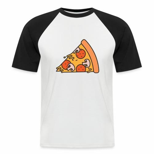 LSonG pizza pic - Männer Baseball-T-Shirt