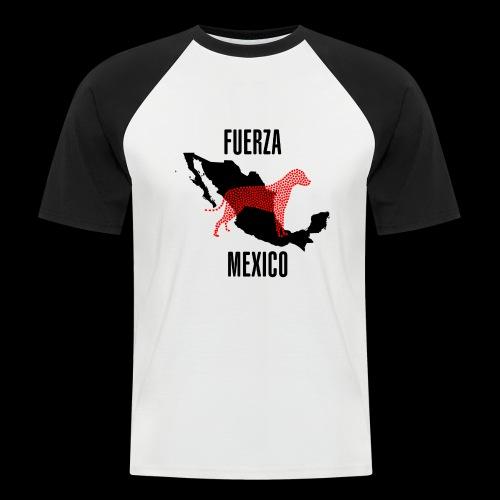FUERZA MEXICO - Camiseta béisbol manga corta hombre