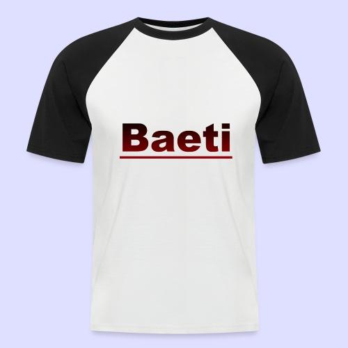 Baeti - Mannen baseballshirt korte mouw