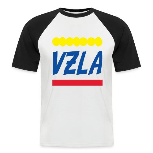 vzla 01 - Camiseta béisbol manga corta hombre