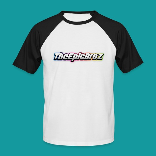 TheEpicBroz - Mannen baseballshirt korte mouw