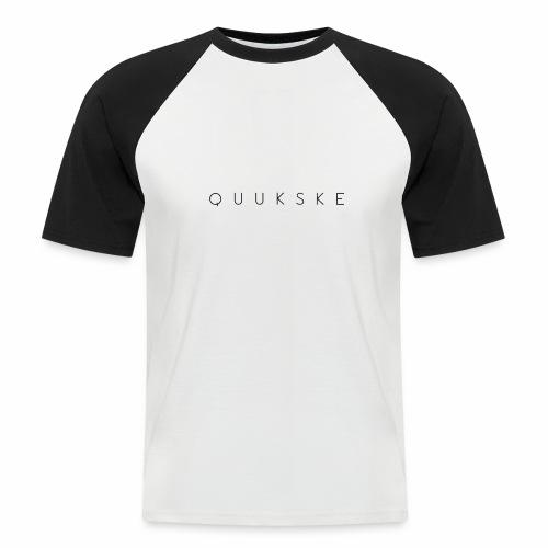 quukske - Mannen baseballshirt korte mouw