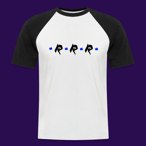 Blue Logo - Männer Baseball-T-Shirt
