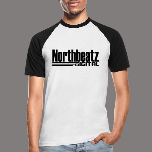 Northbeatz Digital Logo - Männer Baseball-T-Shirt