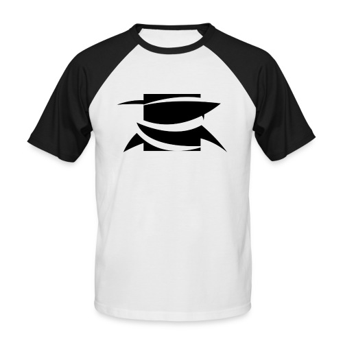 DSBLACK png - Men's Baseball T-Shirt