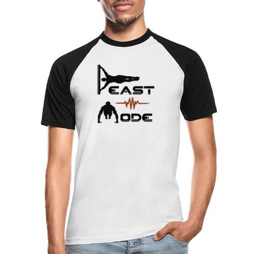 Beast Mode - Männer Baseball-T-Shirt