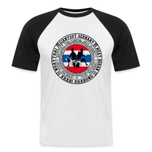 SIAMYOUT Muay Thai - Männer Baseball-T-Shirt