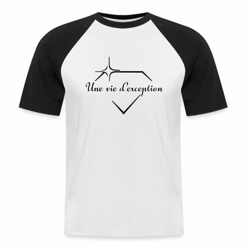 Une vie d'exception - T-shirt baseball manches courtes Homme