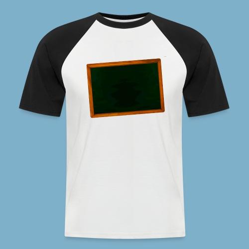 Schul Tafel - Männer Baseball-T-Shirt
