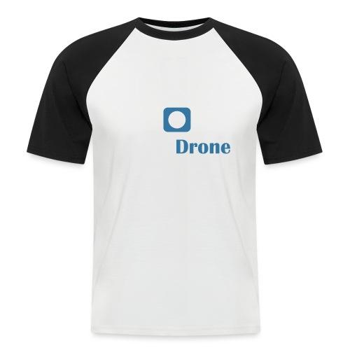 ListerDrone logo - Kortermet baseball skjorte for menn