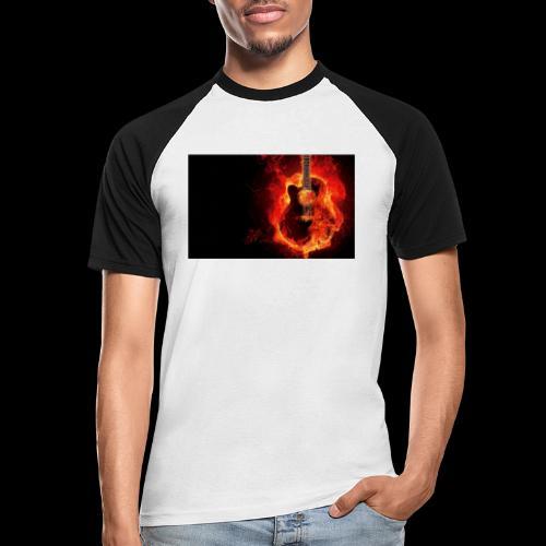 guitar - Männer Baseball-T-Shirt