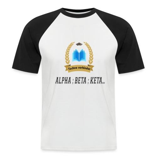 Techno verbindet - Männer Baseball-T-Shirt