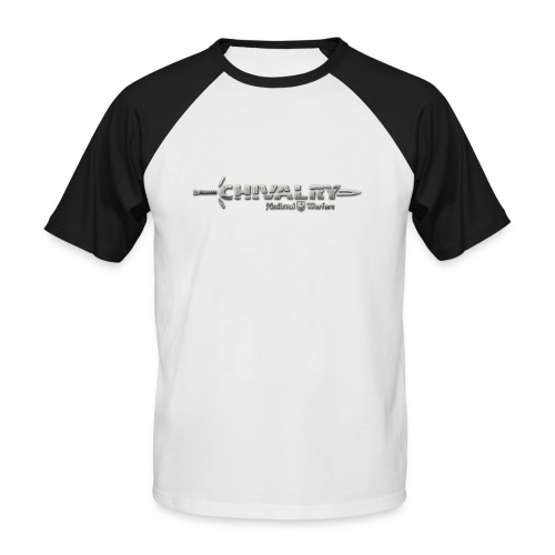 chiv logo print - Men's Baseball T-Shirt