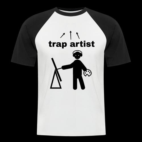 Trap Artist - Camiseta béisbol manga corta hombre