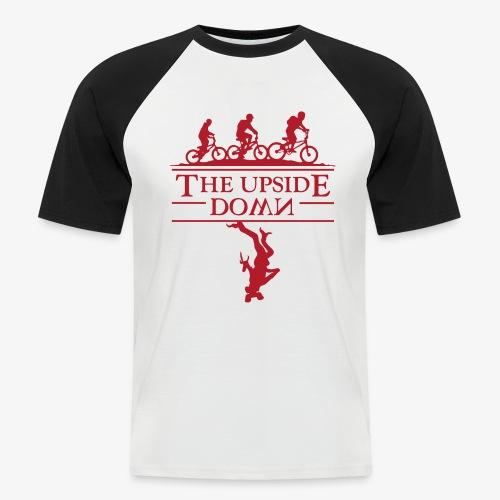 upside down - Koszulka bejsbolowa męska