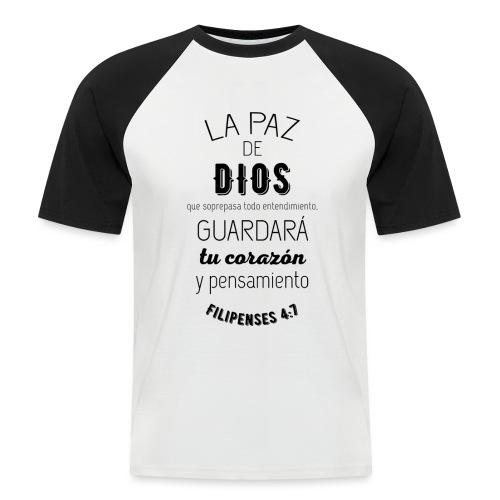 PAZ - Camiseta béisbol manga corta hombre