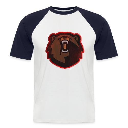 T-shirt - FlaxiZ - Kortærmet herre-baseballshirt