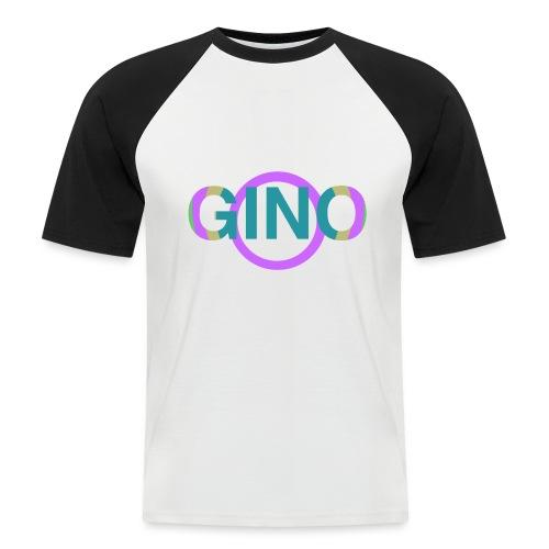 Gino - Mannen baseballshirt korte mouw