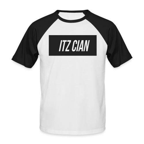 ITZ CIAN RECTANGLE - Men's Baseball T-Shirt