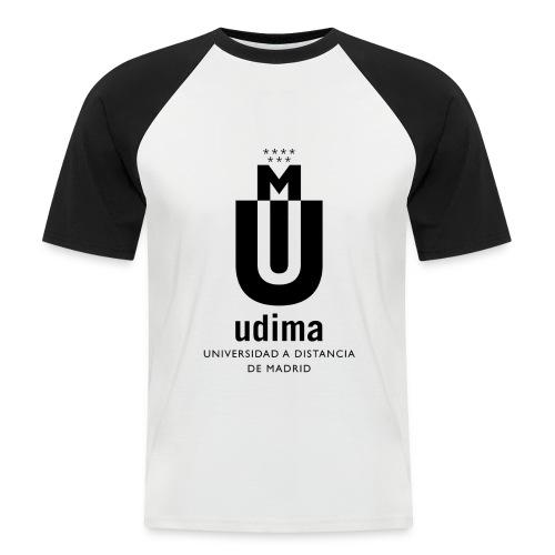 logoudimaverticalbn - Camiseta béisbol manga corta hombre