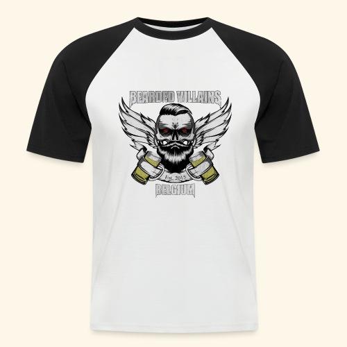 Bearded Villains Belgium - Men's Baseball T-Shirt