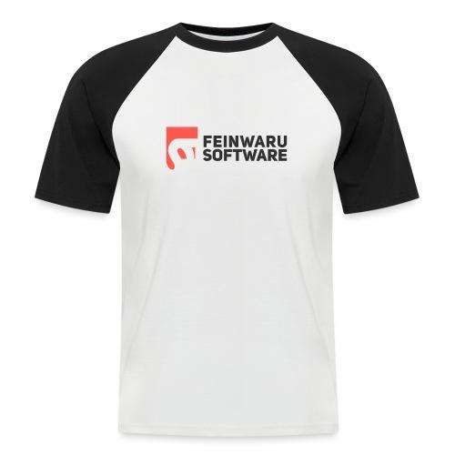 Feinwaru Full Logo - Men's Baseball T-Shirt