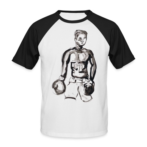 Muhammed Ali - T-shirt baseball manches courtes Homme