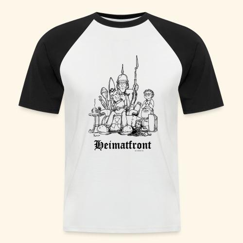Heimatfront Mama Heimat Waffen Sohn Muttersöhnchen - Männer Baseball-T-Shirt