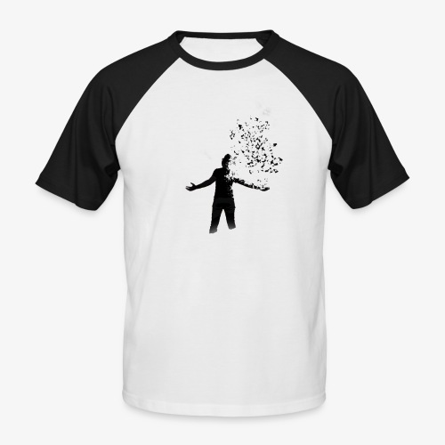 Coming apart. - Men's Baseball T-Shirt