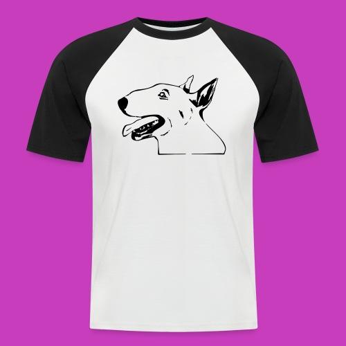 bullterrier - Männer Baseball-T-Shirt