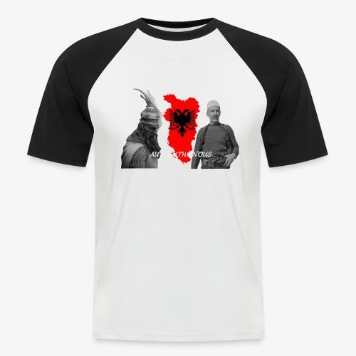 Autochthonous das Shirt muss jeder Albaner haben - Männer Baseball-T-Shirt