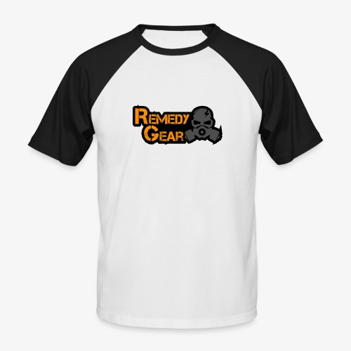 Remedy Gear Logo Wear - Men's Baseball T-Shirt