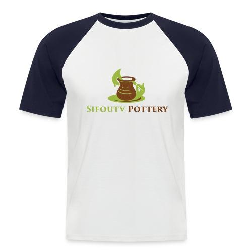 Sifoutv Pottery - Men's Baseball T-Shirt