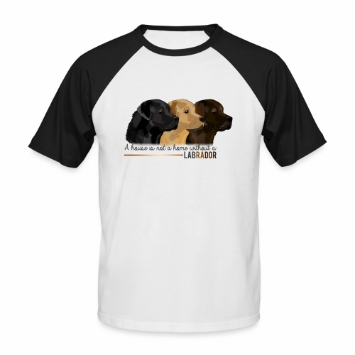 Labrador - T-shirt baseball manches courtes Homme