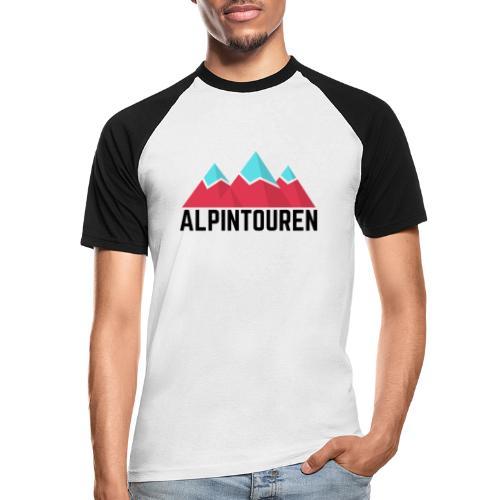 Alpintouren - Männer Baseball-T-Shirt