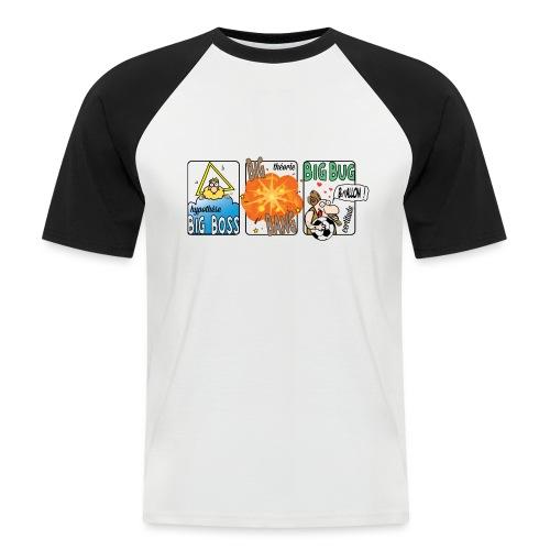 big boss big bang big bug - T-shirt baseball manches courtes Homme