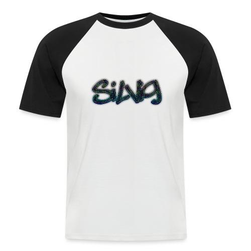 SilViG logo limited - Kortærmet herre-baseballshirt