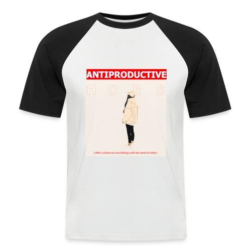 Antiproductive HOES - Männer Baseball-T-Shirt