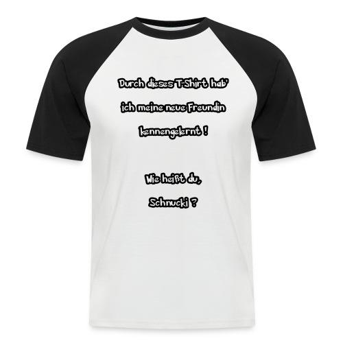 Schnucki - Männer Baseball-T-Shirt