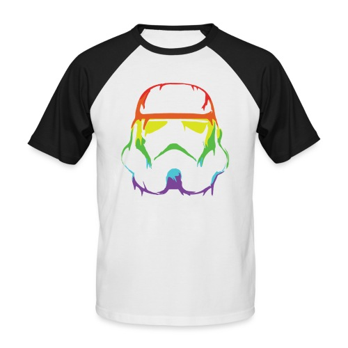 Pride Trooper - simple - Miesten lyhythihainen baseballpaita