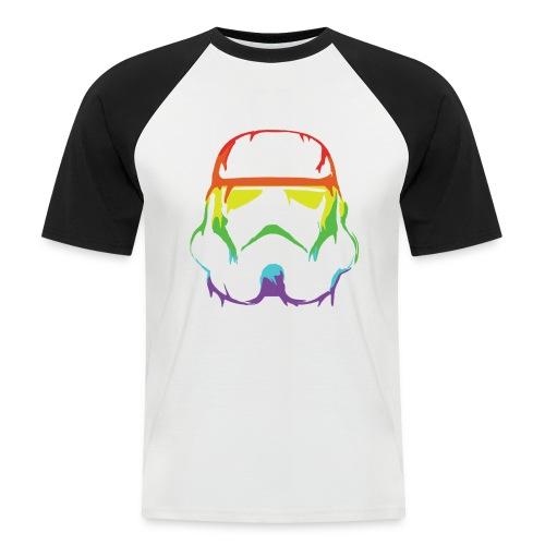 Pride Trooper - simple - Miesten lyhythihainen baseballpaita